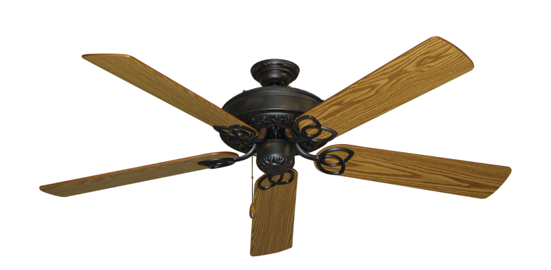 "Picture of Renaissance Oil Rubbed Bronze with 56"" Oak Blades"