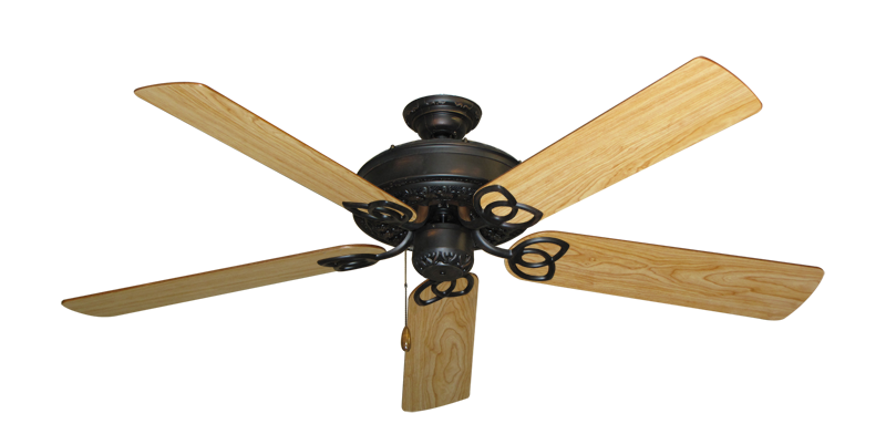 """Picture of Renaissance Oil Rubbed Bronze with 56"""" Maple Blades"""