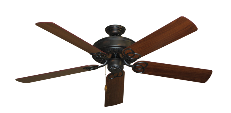 """Picture of Renaissance Oil Rubbed Bronze with 56"""" Walnut Blades"""