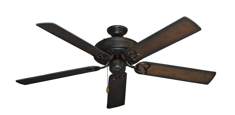 "Picture of Renaissance Oil Rubbed Bronze with 56"" Distressed Hickory Blades"