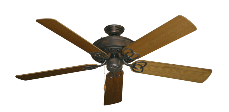 "Picture of Renaissance Oil Rubbed Bronze with 56"" Light Oak Blades"