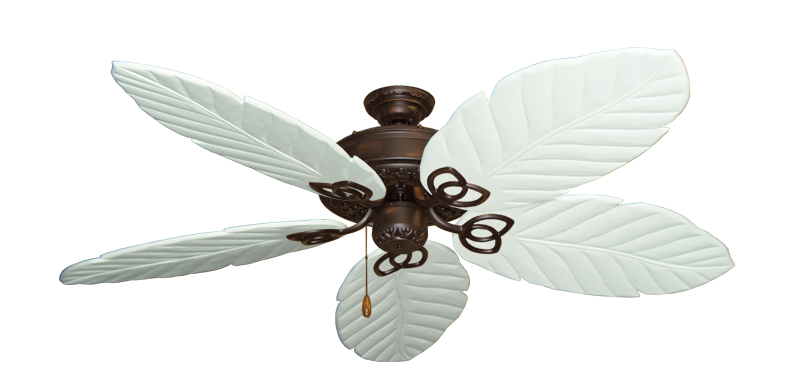 """Picture of Renaissance Oil Rubbed Bronze with 58"""" Series 100 Arbor Pure White Blades"""