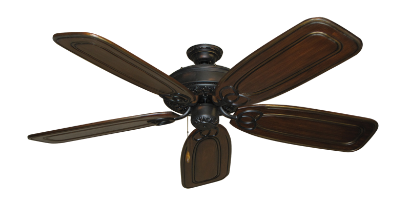 """Picture of Renaissance Oil Rubbed Bronze with 58"""" Series 800 Arbor Chestnut Blades"""