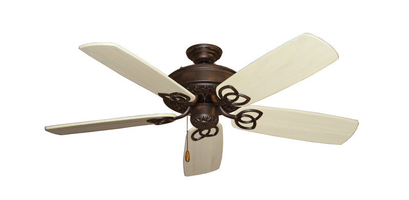 """Picture of Renaissance Oil Rubbed Bronze with 52"""" Series 425 Arbor Whitewash Blades"""