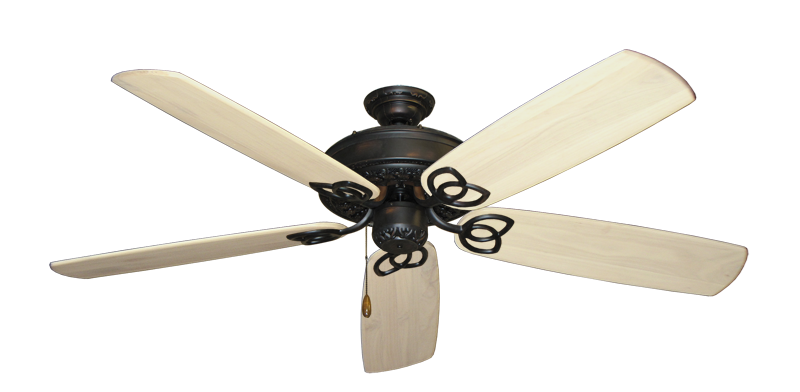 "Picture of Renaissance Oil Rubbed Bronze with 60"" Series 450 Arbor Whitewash Blades"