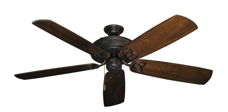 "Picture of Renaissance Oil Rubbed Bronze with 60"" Series 450 Arbor Dark Walnut Blades"