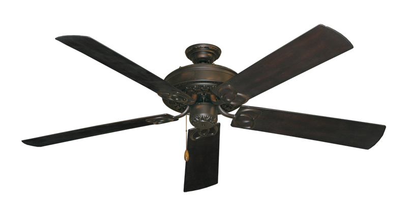 "Picture of Renaissance Oil Rubbed Bronze with 60"" Outdoor Oil Rubbed Bronze Blades"