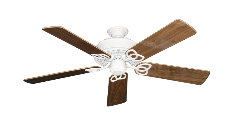 """Picture of Renaissance Pure White with 52"""" Walnut Gloss Blades"""