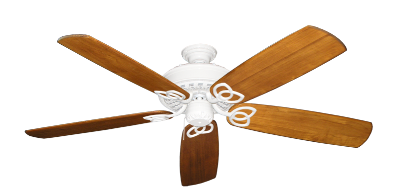 "Picture of Renaissance Pure White with 60"" Series 450 Arbor Oak Blades"