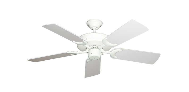 "Picture of Patio Fan Pure White with 44"" Pure White Blades"