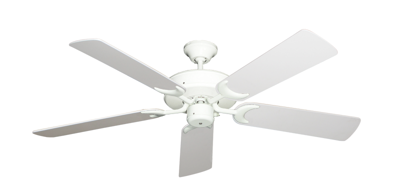 "Picture of Patio Fan Pure White with 52"" Pure White Blades"