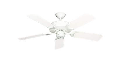 "Picture of Patio Fan Pure White with 44"" Outdoor Pure White Blades"