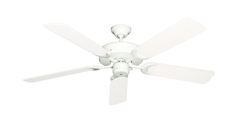 "Picture of Patio Fan Pure White with 52"" Outdoor Pure White Blades"