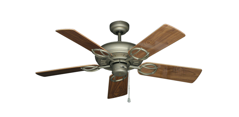 """Picture of Trinidad Antique Bronze with 44"""" Walnut Gloss Blades"""