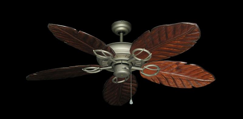 "Picture of Trinidad Antique Bronze with 52"" Series 125 Arbor Cherrywood Blades"