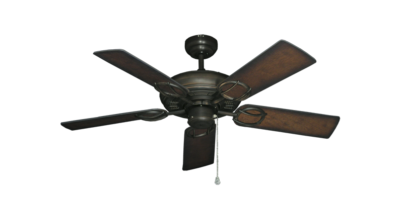"""Picture of Trinidad Oil Rubbed Bronze with 44"""" Distressed Hickory Blades"""