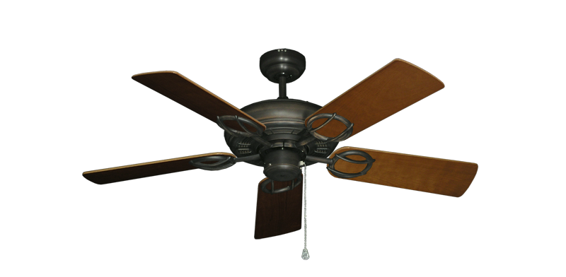 """Picture of Trinidad Oil Rubbed Bronze with 44"""" Natural Cherry Blades"""