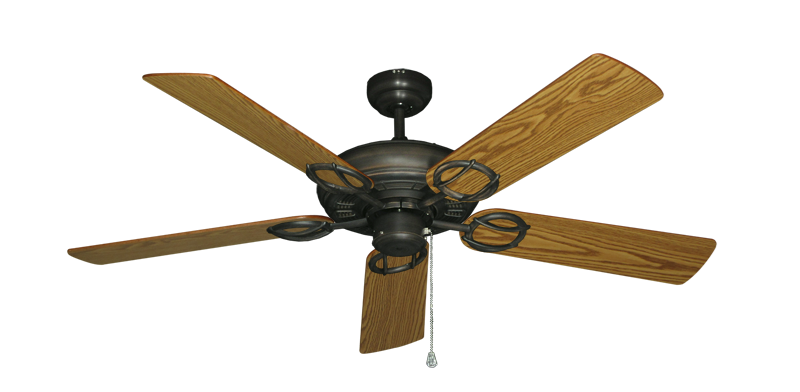 "Picture of Trinidad Oil Rubbed Bronze with 52"" Oak Blades"