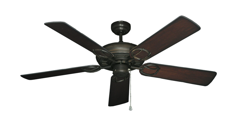 """Picture of Trinidad Oil Rubbed Bronze with 52"""" Distressed Cherry Blades"""