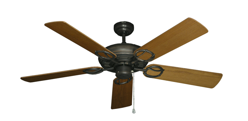 """Picture of Trinidad Oil Rubbed Bronze with 52"""" Light Oak Blades"""
