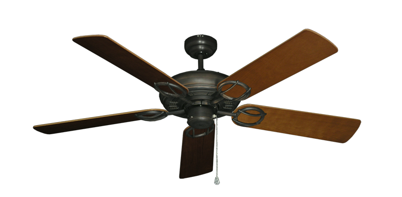 """Picture of Trinidad Oil Rubbed Bronze with 52"""" Natural Cherry Blades"""