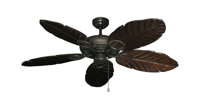 """Picture of Trinidad Oil Rubbed Bronze with 52"""" Series 125 Arbor Dark Walnut Blades"""