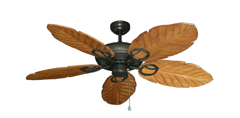 """Picture of Trinidad Oil Rubbed Bronze with 52"""" Series 125 Arbor Oak Blades"""
