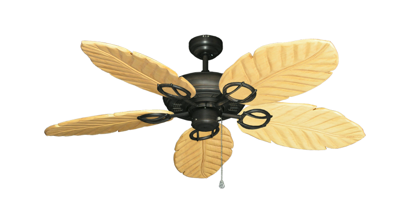 "Picture of Trinidad Oil Rubbed Bronze with 52"" Series 125 Arbor Maple Blades"