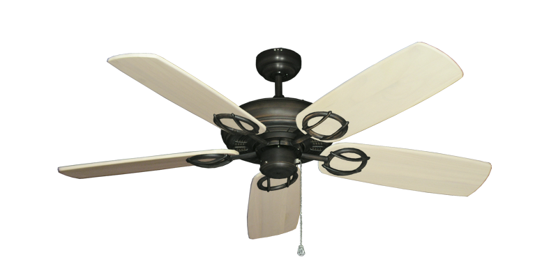 "Picture of Trinidad Oil Rubbed Bronze with 52"" Series 425 Arbor Whitewash Blades"