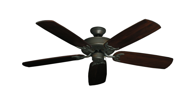 """Picture of Bermuda Breeze V Oil Rubbed Bronze with 52"""" Series 425 Arbor Cherrywood Blades"""