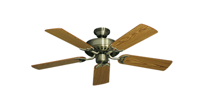 "Picture of Bimini Breeze V Antique Brass with 44"" Oak Blades"