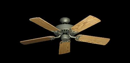 "Bimini Breeze V Antique Bronze with 44"" Oak Gloss Blades"