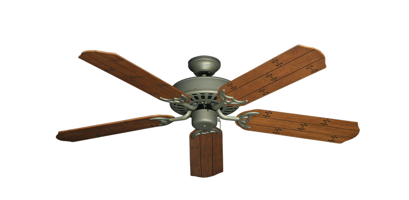 "Picture of Bimini Breeze V Antique Bronze with 52"" Cherry Plank Blades"