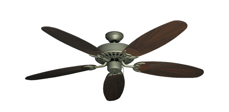 "Picture of Bimini Breeze V Antique Bronze with 52"" Outdoor Leaf Oil Rubbed Bronze Blades"