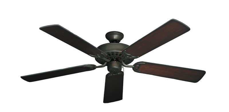 "Picture of Bimini Breeze V Oil Rubbed Bronze with 52"" Distressed Cherry Blades"
