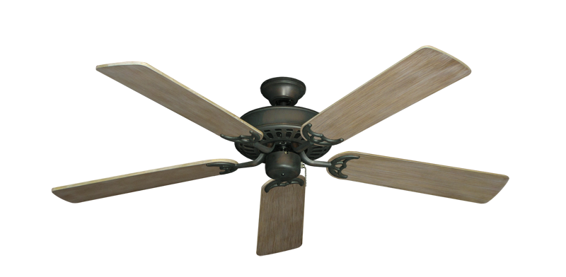 "Picture of Bimini Breeze V Oil Rubbed Bronze with 52"" Driftwood Blades"