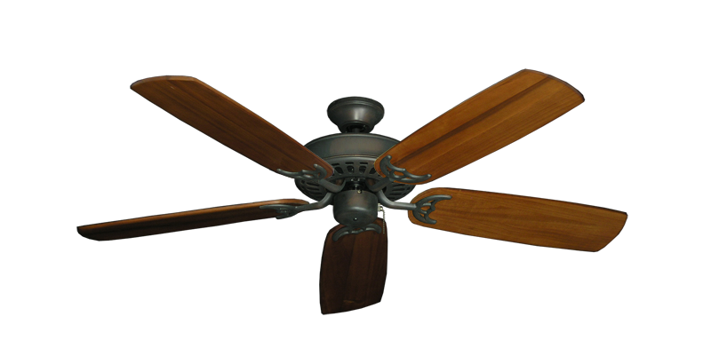 "Picture of Bimini Breeze V Oil Rubbed Bronze with 52"" Series 425 Arbor Oak Blades"