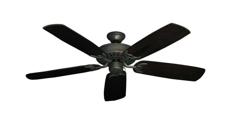 "Picture of Bimini Breeze V Oil Rubbed Bronze with 52"" Series 425 Arbor Dark Walnut Blades"