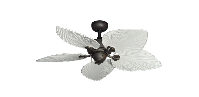 "Picture of 42"" Bombay Oil Rubbed Bronze with 42"" Bombay Pure White Blades"