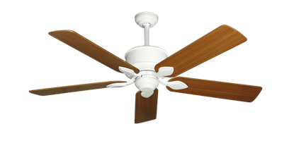 """Picture of Hercules Pure White with 52"""" Teak Blades"""
