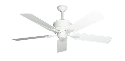 """Picture of Hercules Pure White with 52"""" Pure White Gloss Blades"""