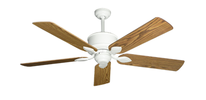 """Picture of Hercules Pure White with 52"""" Oak Gloss Blades"""