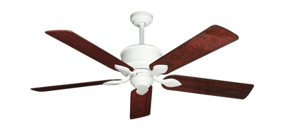 """Picture of Hercules Pure White with 52"""" Cherrywood Gloss Blades"""