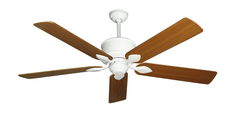 """Picture of Hercules Pure White with 56"""" Teak Blades"""