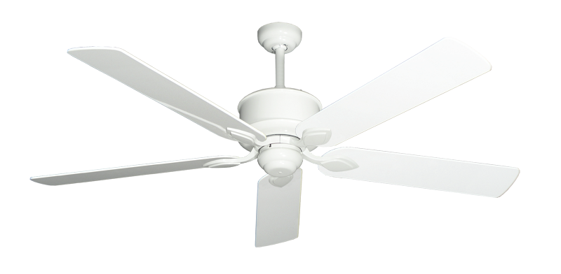 "Picture of Hercules Pure White with 60"" Pure White Gloss Blades"