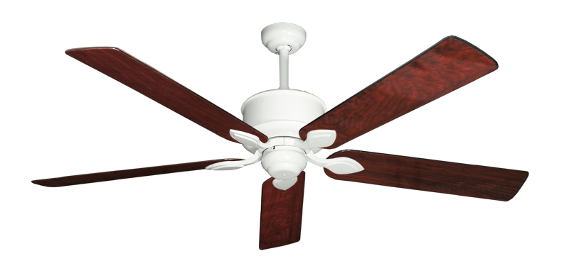 """Picture of Hercules Pure White with 60"""" Cherrywood Gloss Blades"""