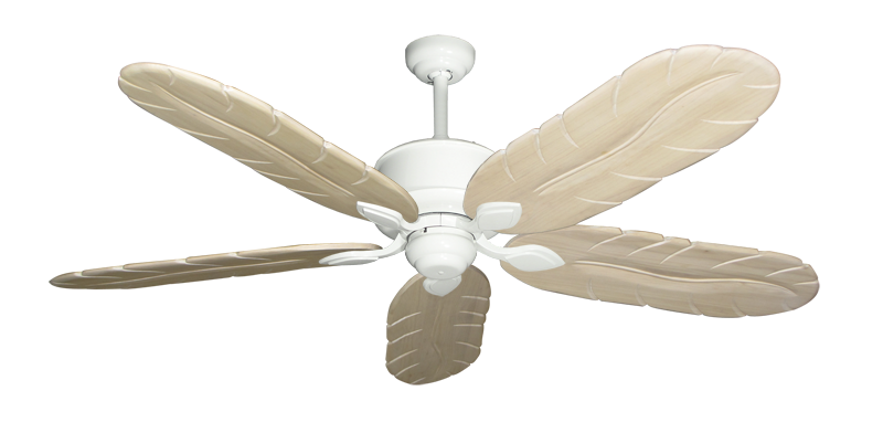 """Picture of Hercules Pure White with 58"""" Series 500 Arbor Whitewash Blades"""