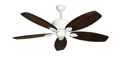 """Picture of Hercules Pure White with 52"""" Series 550 Arbor Whitewash Blades"""