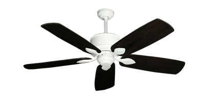 """Picture of Hercules Pure White with 52"""" Series 710 Arbor Dark Walnut Blades"""