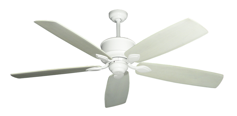 "Picture of Hercules Pure White with 60"" Series 725 Arbor Whitewash Blades"